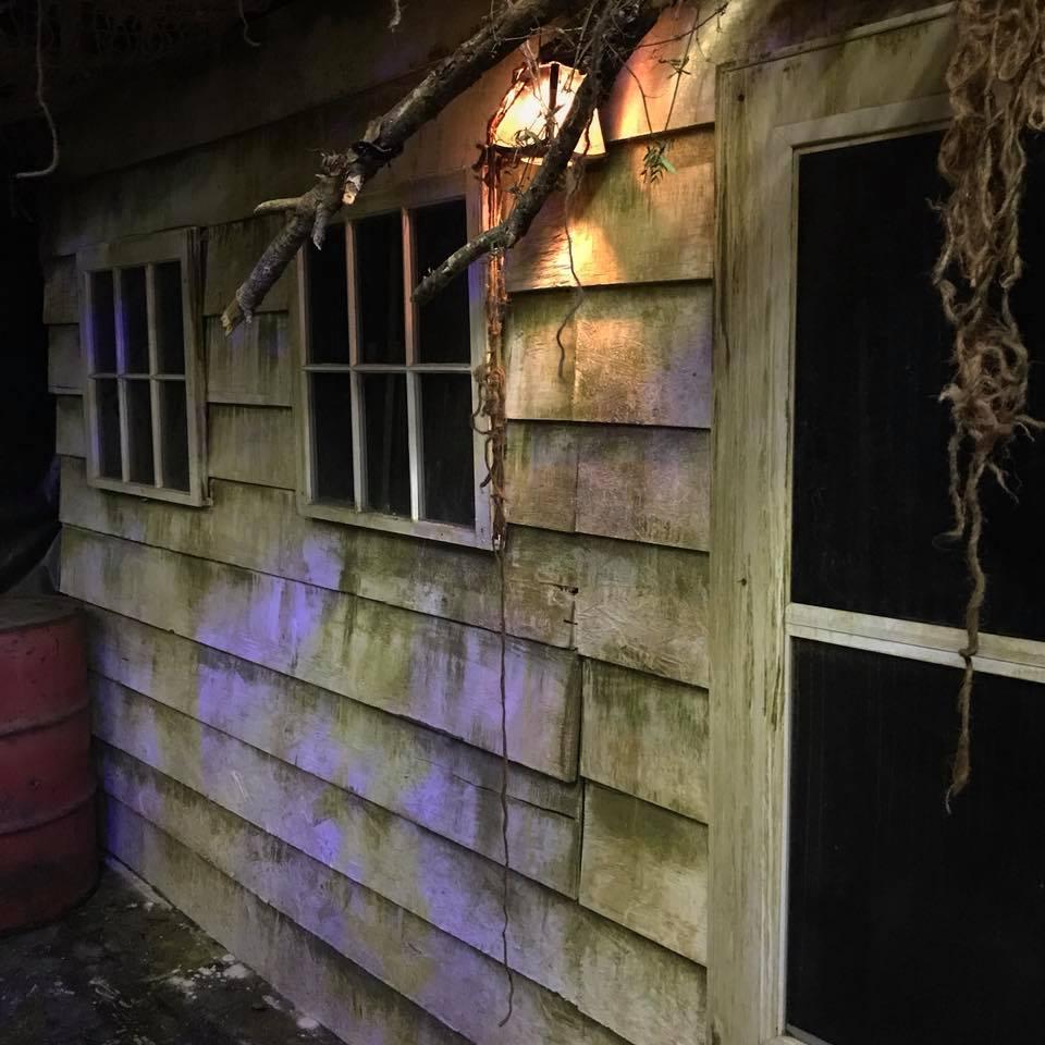 Paranoia Haunted House Exterior Shingle