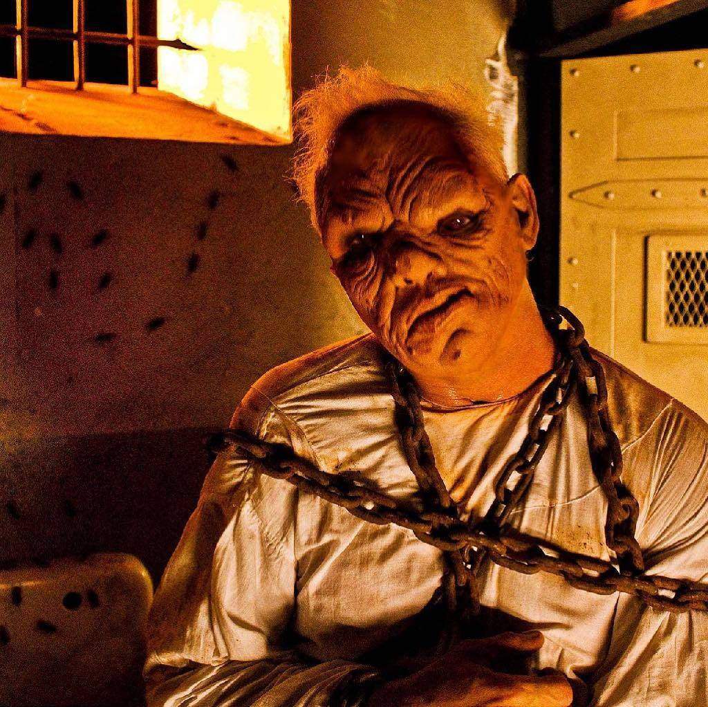 Terror On The Coast Haunted House Twisted Face Actor
