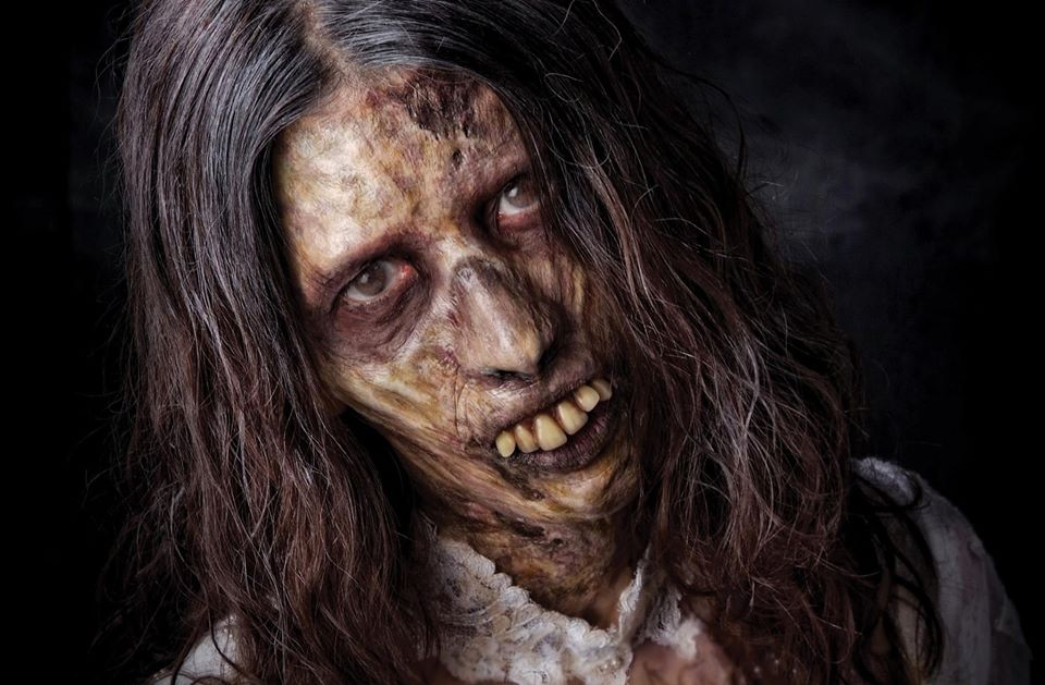 Monstrous Makeup Manual Zombie Example