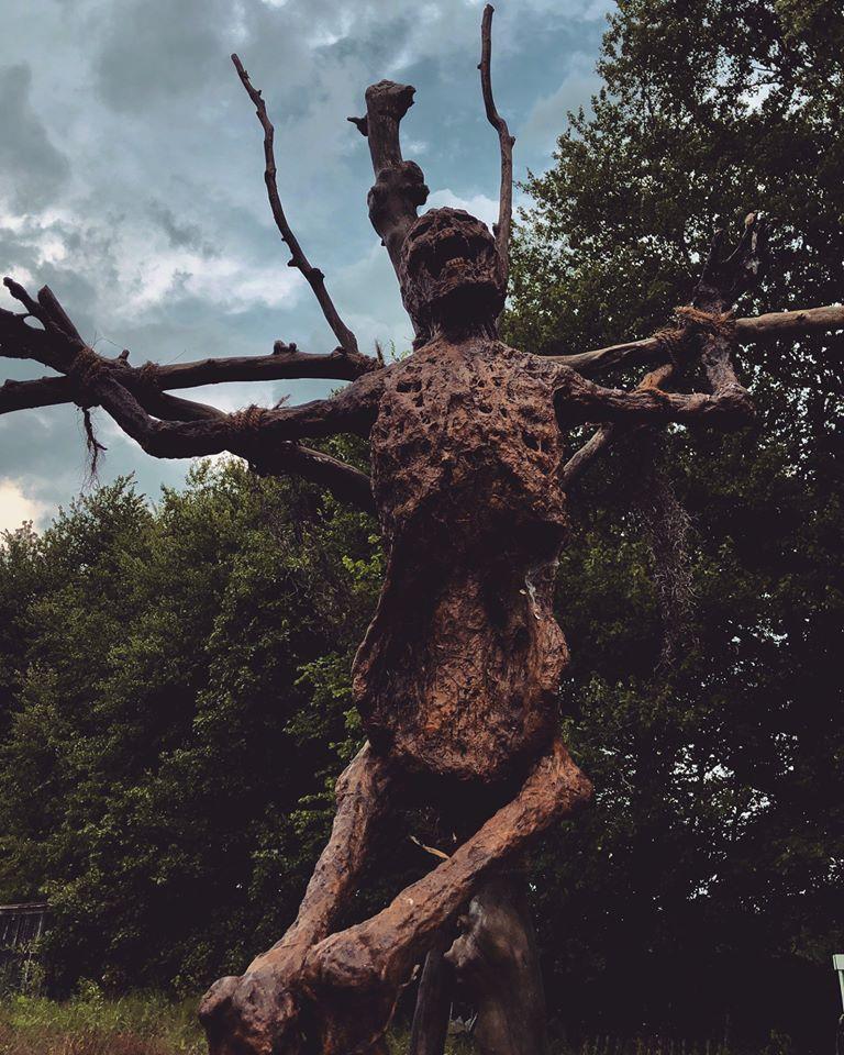 All Hallows Eve Terror Town Ohio Scariest Haunted House Skeleton Scarecrow