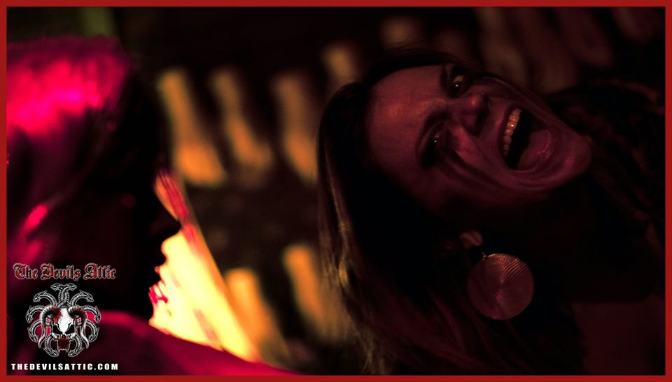 The Devils Attic Haunted House Screaming Woman