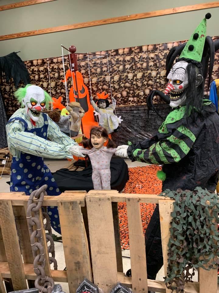 Morris Costumes Halloween Express Retail Store Display