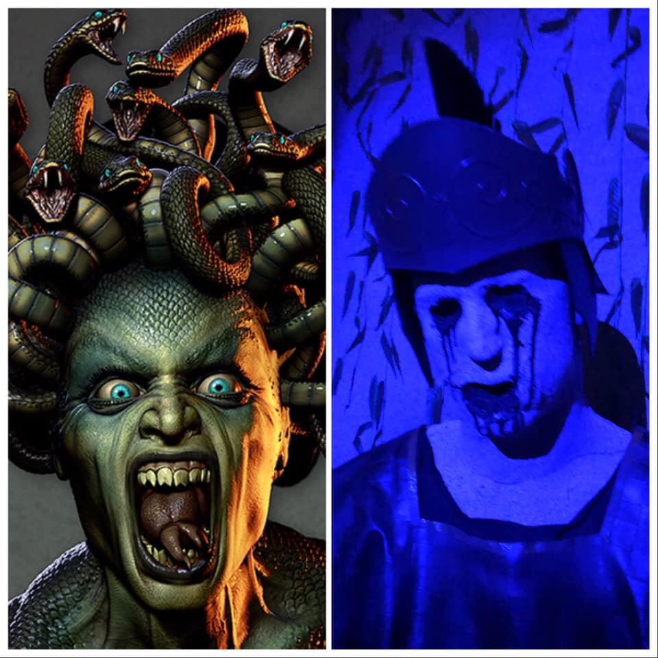 The Devils Attic Haunted House Side By Side Special Effects