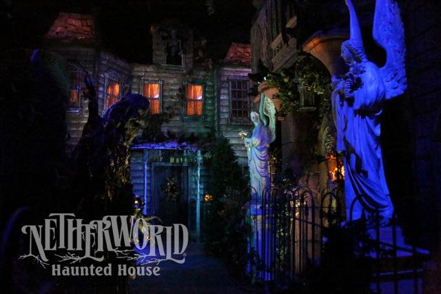 Netherworld Haunted House Scariest Creepy Outdoor Night Set