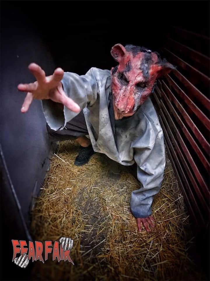 Fear Fair Indiana Scariest Haunted House Pig Face Mask