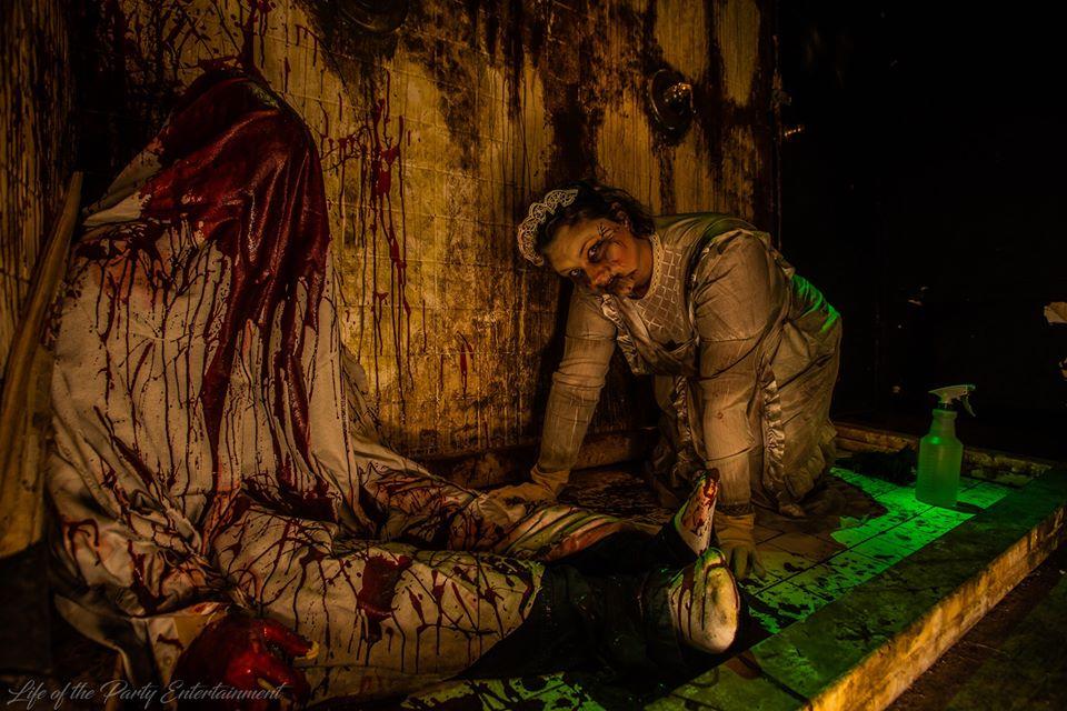 The Haunted Hotel KY Creepy Crawling Baby