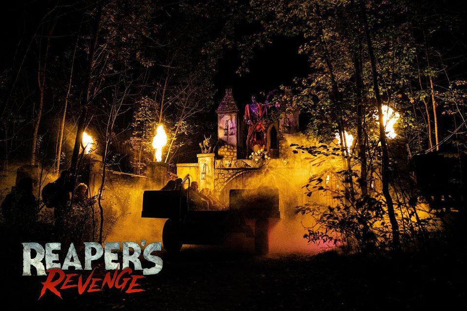 Reapers Revenge Pennsylvania Scariest Haunted House Fog Scene