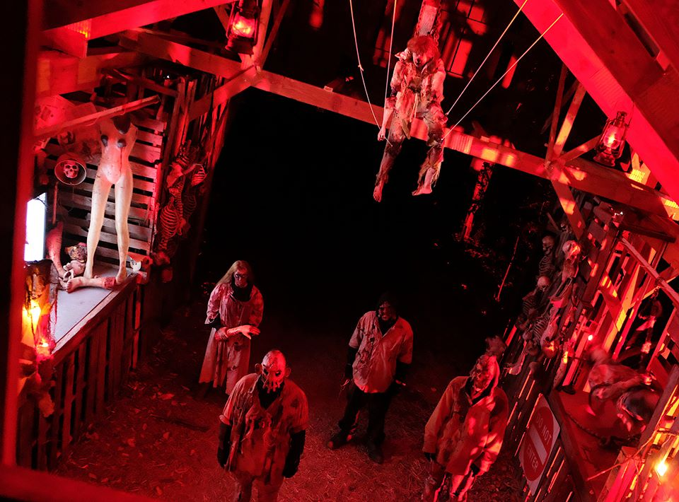 Reapers Revenge Pennsylvania Scariest Haunted House Attic Zombies