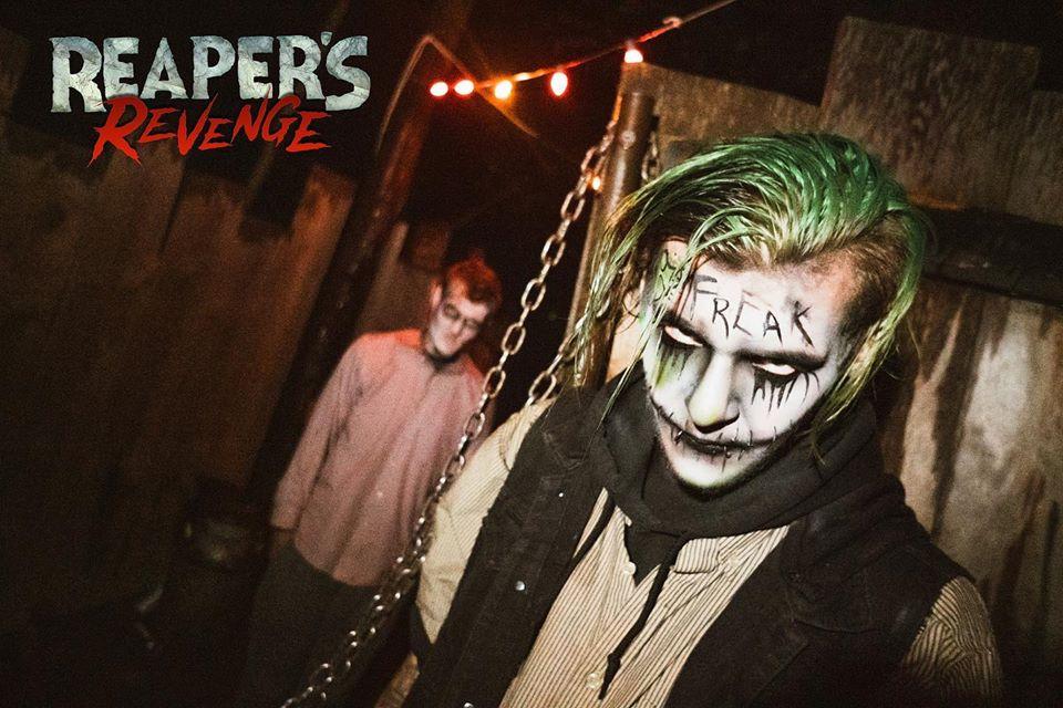 Reapers Revenge Pennsylvania Scariest Haunted House Joker Actors