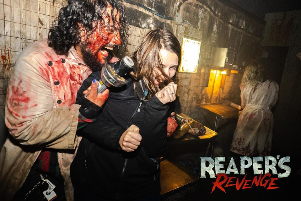 Reapers Revenge Pennsylvania Scariest Haunted House Frightened Guests