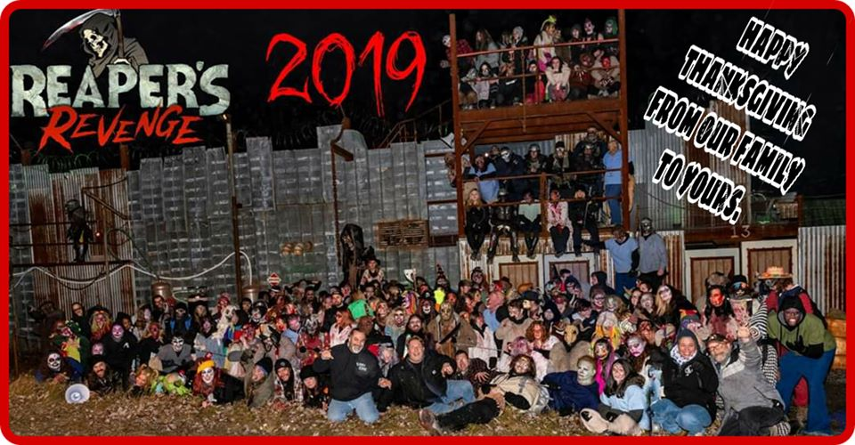 Reapers Revenge Pennsylvania Scariest Haunted House Actor Group