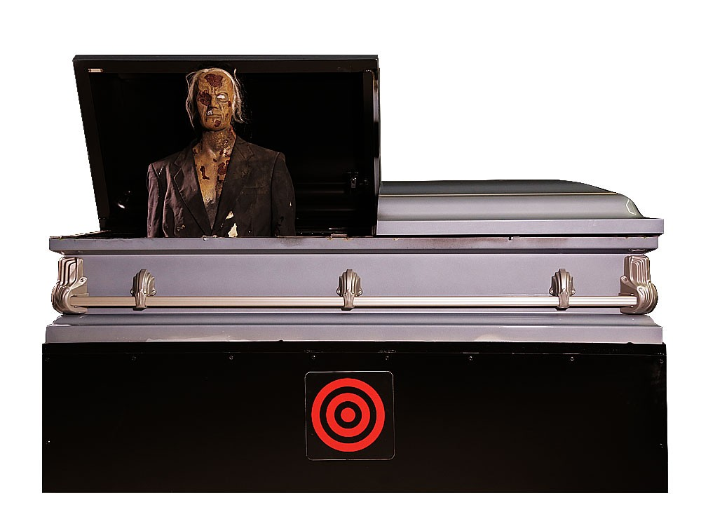 Outlaw Haunt Productions Animatronic Coffin
