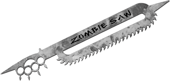 Zombie Works Saw Weapon