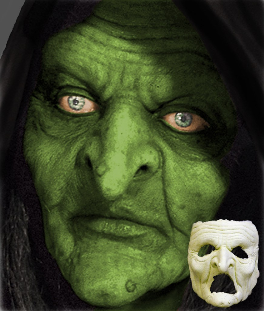 ImpaQt FX Special Effects Makeup Witch Face Prosthetic