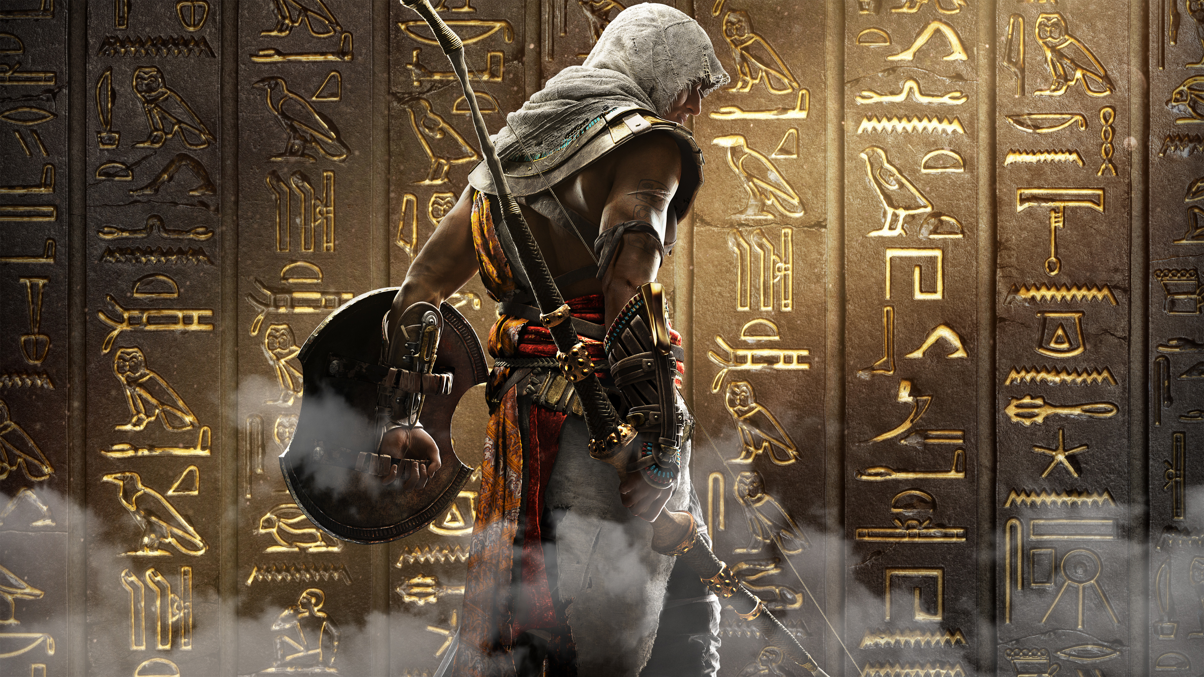 How To Get Bayek Layered Armor And Assassin S Hood Monster Hunter