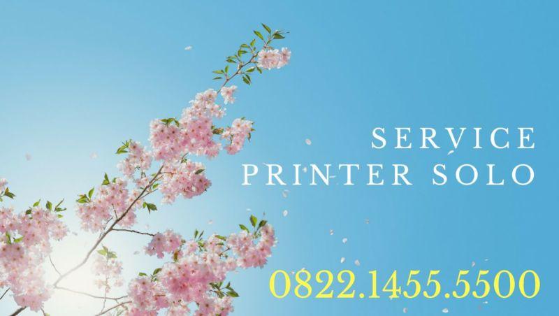 Service Printer Solo 082214555500