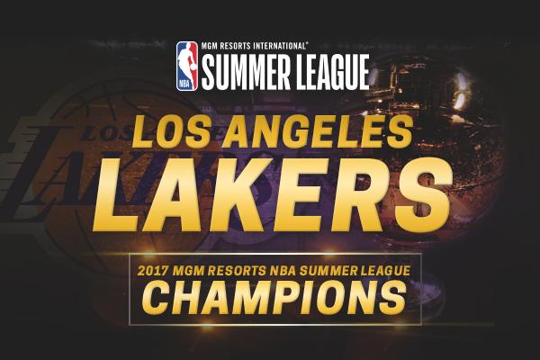 The Los Angeles Lakers Win the 2017 Las Vegas NBA Summer ...
