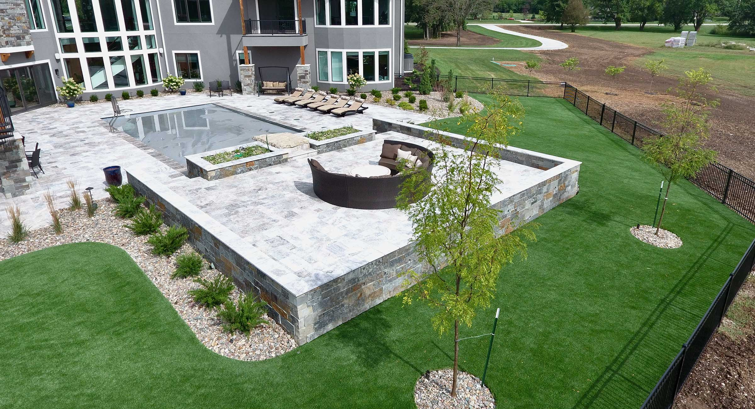 synthetic turf grass design Kansas