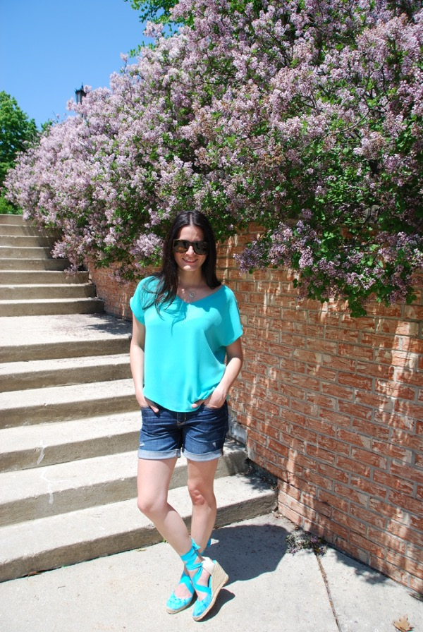Teal & Lilacs - 3