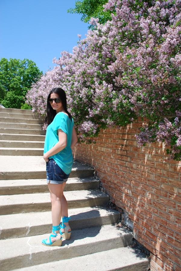 Teal & Lilacs - 4