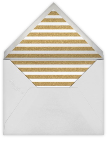 gold stripe envelope liner paperless post