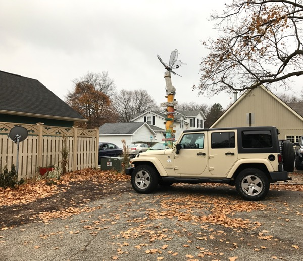 Lorelai's jeep