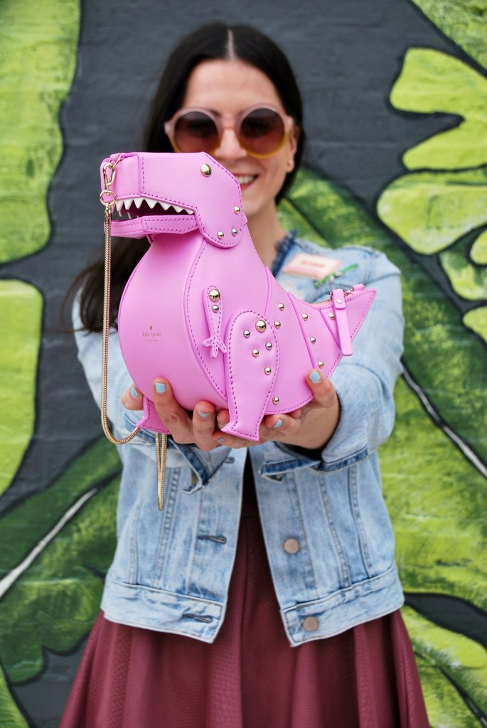 introducing Roxy, the pink T-Rex Dinosaur