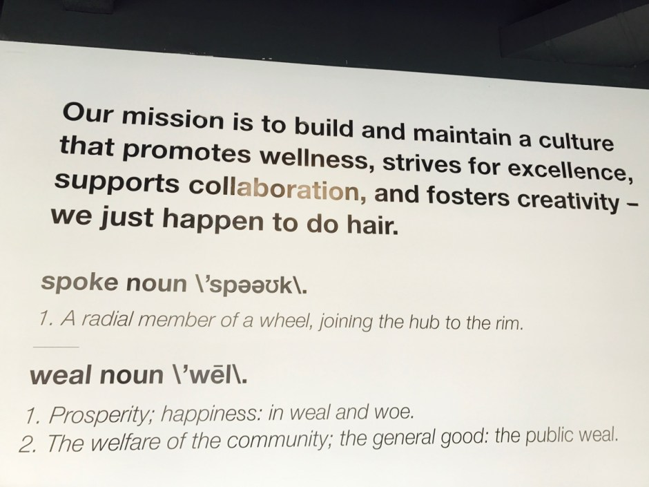 spoke & weal mission statement