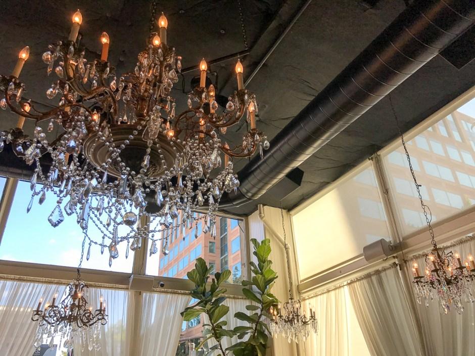 pretty decor at mother's