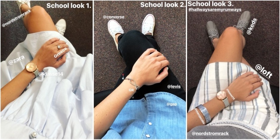 school looks 1-3