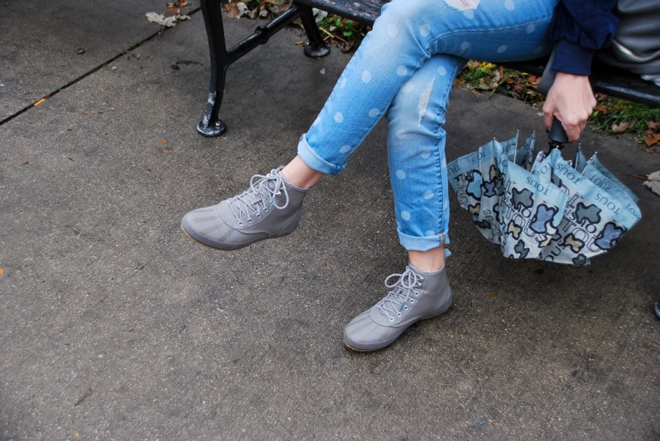 keds gray scout boots