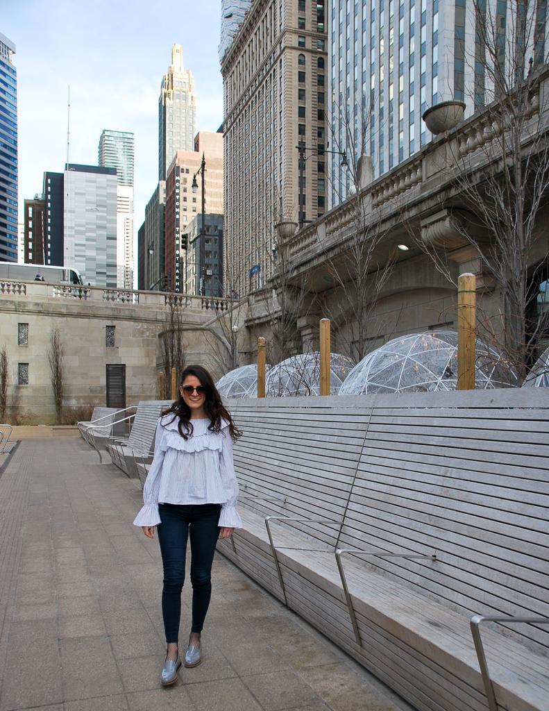 Chicago Riverwalk, City Winery Domes
