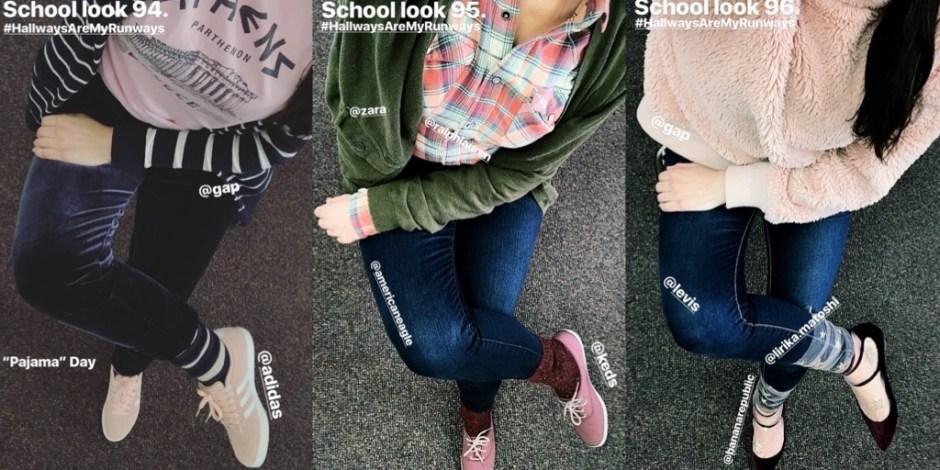 school looks 94-96