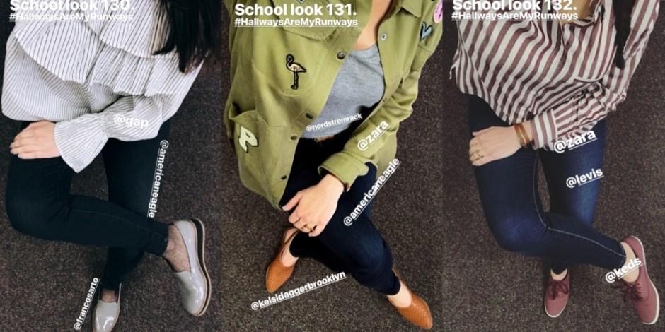 school looks 130-132