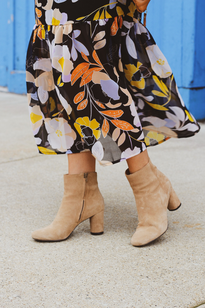 banana republic camel suede booties