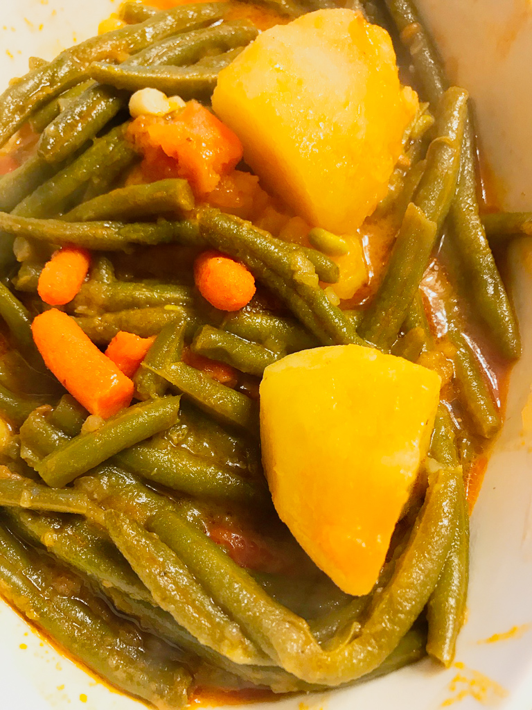 Green Beans with Potatoes & Carrots