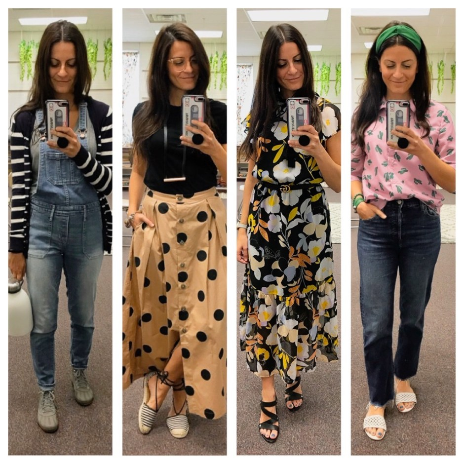 week three work outfits