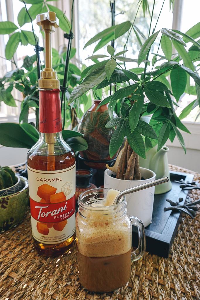 torani puremade caramel syrup