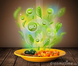 healthy-bio-green-plate-food-grungy-background-47266668