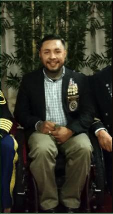 "U.S. Army CPL Michael ""Mike"" Vasquez (R)"