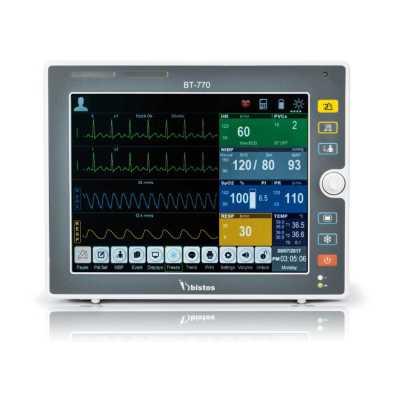 """Bistos BT-770-12.1"""" Touchscreen Patient Monitor"""