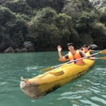 kayaking with Serenity Cruises