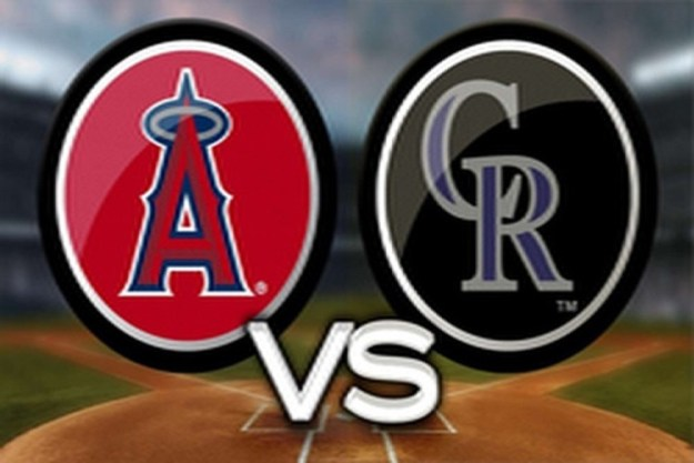 Angels at Rockies