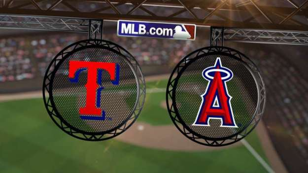 Rangers at Angels