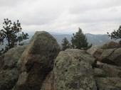 boulders above Boulder