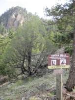 Rincon Trail - technical climbing