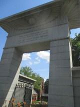 Eygyptian entrance gate