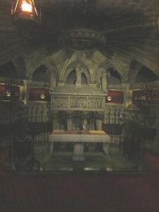 Saint Eulalia's tomb