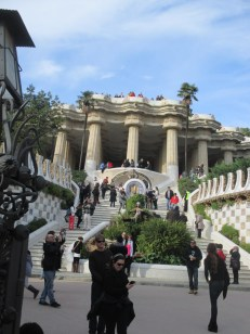 staircase to the colonade