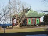 Alva's pagoda tea house